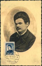 © 1940 - LATVIA Poet Auseklis