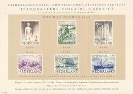 æ 1950 - Zomerzegels Folder Engels