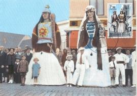 1971 BELGIUM - Giants Gayant Ath