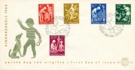 æ E 054 - 1962 Kinderzegels