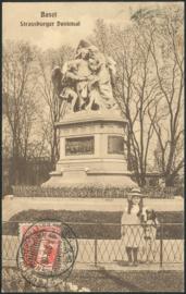 © 1908 SWITZERLAND Helvetia Monument Basel