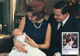 þþþ Beatrix 75 jaar Geboorte Prins Willem-Alexander