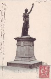 © 1903 - FRANCE Statue of the Republic - Rozoy