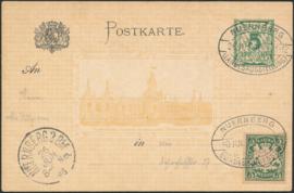 © 1897 - BAVARIA Coat of arms