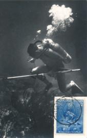 ®® 1960 NVPH 315 NED. ANTILLEN Diepzeevisser