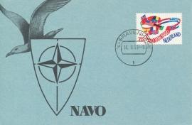 ® 1989 - CATA 1423 Embleem NAVO