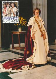 þþþ Beatrix 75 jaar Inhuldiging 1980