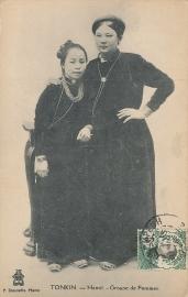 © 1915 INDO CHINA Annamite women