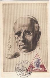 1957 MONACO - Pope Pius XII