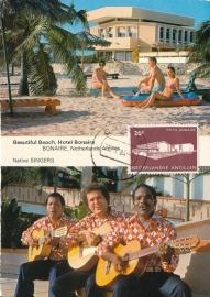 ®® 1963 NVPH 337 NED. ANTILLEN Hotel Bonaire