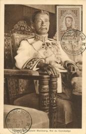 © 1937 INDO CHINA King Monivong