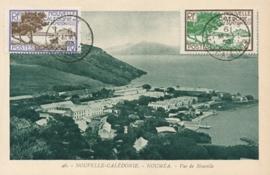 © 1930 - NEW CALEDONIA - Coast line