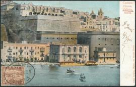 © 1904 - MALTA Great harbor Valletta