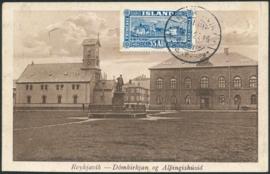 © 1925 - ICELAND Reykjavik Cathedral
