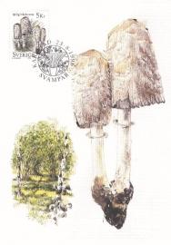 1996 SWEDEN - Mushroom Ink Cap