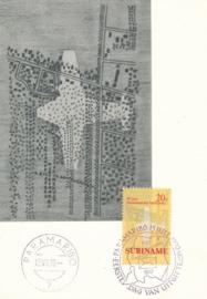 ®®® 1970 - CATA 541 - SURINAME Binnenlandse luchtpost