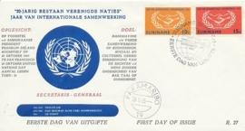 ¤¤¤ E 037 SURINAME Internationale samenwerking