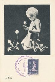 ® 1940 - CATA 374 Kind met bloemen