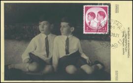 © 1938 YUGOSLAVIA Princes Tomislav and Andrija