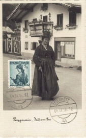 1956 AUSTRIA - Costumes Zell am See