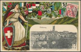 © 1911 SWITZERLAND Helvetia