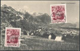 © 1932 LIECHTENSTEIN Landscape Vaduz