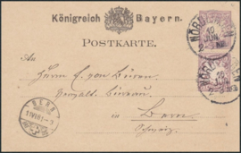 © 1881 - BAVARIA Coat of arms