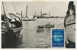 ®® 1952 CATA 242 NED. ANTILLEN Schepen