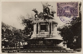 © 1937 COSTA RICA National monument