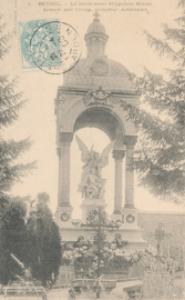 © 1905 - FRANCE Monument Rethel
