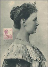 ®®®® 1922 - CATA 124 NED-INDIË Koningin Wilhelmina