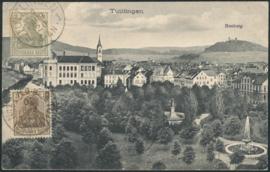 © 1920 - GERMAN REICH - Tüttlingen Statue Germania