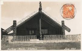 © 1939 - NEW ZEALAND - Waitara meeting house