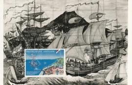 ®® 1961 NVPH 322 NED. ANTILLEN Saluut St. Eustatius