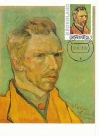 PG011 Van Gogh Self portrait 1888