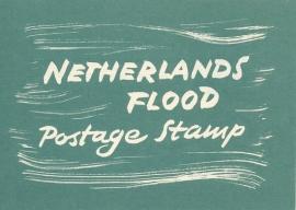 æ 1953 - Watersnood Folder Engels