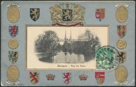 © 1912 - BELGIUM Heraldic lion