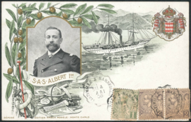 © 1906 - MONACO Prince Albert I