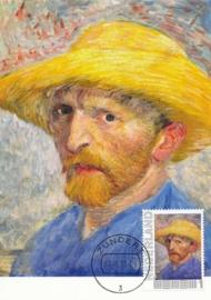 PG021 Van Gogh Self portrait 1887