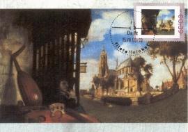 R033 C. FABRITIUS Gezicht op Delft