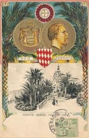 © 1910 - MONACO Coat of arms