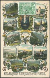 © 1913 LIECHTENSTEIN Prince Johann II