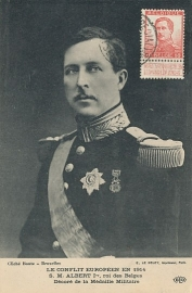 © 1915 - BELGIUM King Albert I