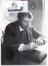 1993 FRANCE - Philosopher Alain