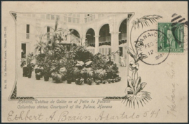 © 1904 - CUBA - Statue of Columbus