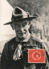 ®® 1957 NVPH 260 NED. ANTILLEN Baden Powell Scouting