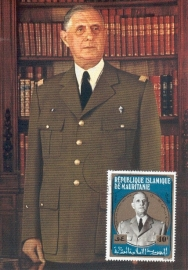 1971 MAURETANIA President De Gaulle