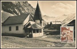 © 1938 LIECHTENSTEIN Church Steg