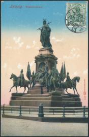 © 1910 - GERMAN REICH - Leipzig Statue Germania