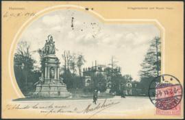 © 1911 - GERMAN REICH - Hannover Statue Germania